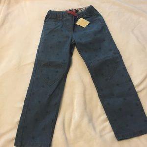 Mini Boden girls jeans NWT
